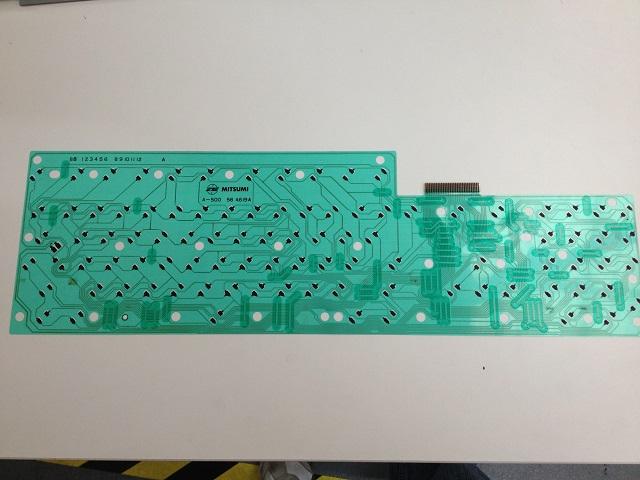 Brand new Amiga 500 keyboard membrane