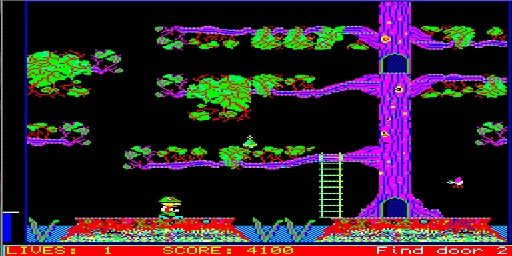 Jungle Eddi                             Arcade Game for Sinclair QL